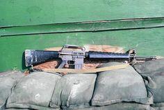 M16A1 5.56mm Assault rifle.