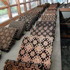 Batik stamp - copper tjaps (have always liked the stamping 'block')