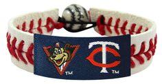 Minnesota Twins TC Mascot Classic Baseball Bracelet