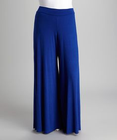 Take a look at this Royal Palazzo Pants - Plus on zulily today!