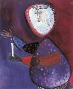 Guardian of Flame , 1953 , by Margit Anna - Cd Paintings 23 December, Beautiful Artwork, Anna, Artworks, Paintings, Journal, Inspiration, Artists, Beautiful Images