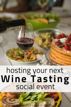 hosting a wine tasting party? Here are some of my best party tips for hosting your next wine tasting social Party Ideas Wine Tasting Card, Wine Tasting Events, Tasting Menu, Wine And Cheese Party, Wine Cheese, Fancy Cheese, Wine Tasting Experience, Wine Night, Thing 1