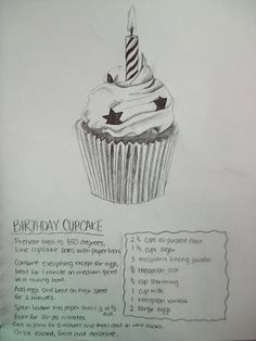 Illustrated recipes (use 'They Draw They Cook' website as companion)