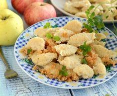 Kluski kładzione z jabłkami Cauliflower, Sweets, Dinner, Vegetables, Breakfast, Food, Coffee, Image, Diet