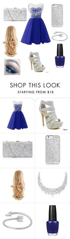 """""""Moonlit night"""" by ilovegermanshepherds ❤ liked on Polyvore featuring Celeste and OPI"""