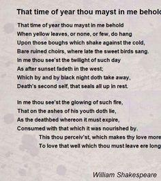 sonnet 73 Shakespeare Sonnets, Poetry, Poetry Books, Poem, Poems