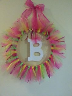 B for Braylee - decoration for baby shower and decoration for baby room after