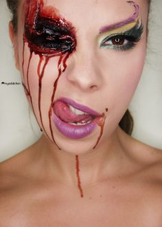 Halloween Makeup | Halloween makeup – Bloody Fairy | Idea Gallery | Makeup Geek