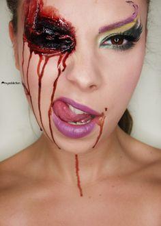 Halloween Makeup- Bloody Fairy