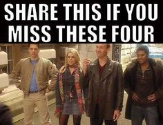 Of course I do. But I've liked the Doctors and companions since then, too.
