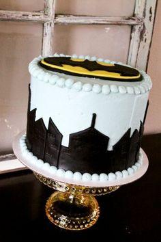 Batman cake! Smooth