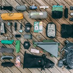 Bikepacking Gear List, Bike Touring Pack List