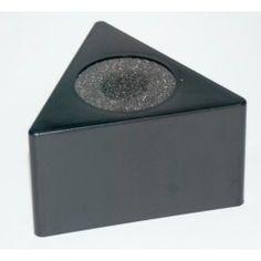#Mikrofonwürfel Dreieck 90x50mm.