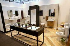 VitrA | Mosbuild | 2016 Vitra Bathrooms, Bathroom Showrooms, Exhibition Display, Interior Design Living Room, Double Vanity, Flooring, Luxury, House, Interiors