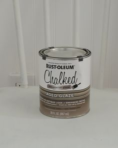 Testing out Rust-Oleum Aged Glaze - Sarah Joy Rustoleum Chalked, Rustoleum Chalk Paint, Make Chalk Paint, Glazing Furniture, Chalk Paint Furniture, Furniture Projects, Furniture Makeover, Ruffle Curtains, Wipe Warmer