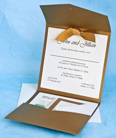 Wedding invitations, envelope is awesome! The bottom flap will have questions about attendance, the middle will be addressed to us with the guest's return address and a stamp, the envelop will fold backwards and mail just like that!