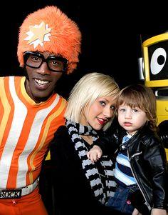 See How Christina Aguilera's Son Max Has Grown!: November 2009