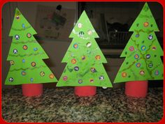A matter of choice: Christmas Tree Craft