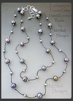 MiShel Designs Pearls for Etania Gems