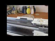 Машинное вязание с нуля. Практические советы начинающим вязать на двухфонтурной машине Сильвер Рид. - YouTube