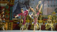 The Chinese Dance from Staatsballet Berlin's reconstruction of the original Nutcracker. Photo by Bettina Stoess