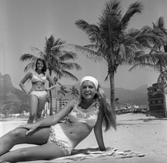 Praia de Ipanema, anos 1960