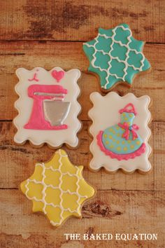 I have been waiting for months for the Blended Conference. At the Blended Conference an attendee will receive a custom set of our kitchen lovers cookies.