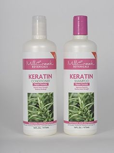 Mill Creek Botanicals Keratin Shampoo and Conditioner Bundle - http://essential-organic.com/mill-creek-botanicals-keratin-shampoo-and-conditioner-bundle/