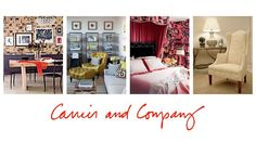 Carrier and Company | Design Focused Interiors. Read more at www.finesportsprints.com/journal #design #decor #lifestyle Journal Design, Gallery Wall, Interiors, Posts, Lifestyle, Blog, Home Decor, Messages, Decoration Home