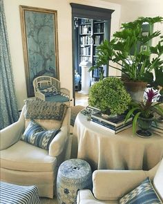 Cohesive Room Colors and Furnishings Between Rooms - beautiful stylings of @m.o.endres on instagram. Maura Endres
