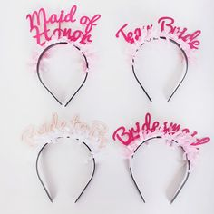These bridal headbands are a must-have for any bachelorette party. go.brit.co/1f46jOK