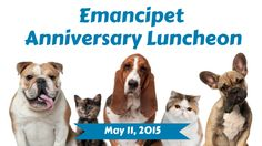 """Shweiki Media is excited to announce that they will be continuing their support of and partnership with Emancipet by printing all materials for the organization's Anniversary Luncheon, celebrating 16 years of """"keeping pets healthy, happy and safe at home with loving families whose lives they enrich.""""http://www.shweiki.com/blog/2015/05/the-right-way-to-monetize-digital-for-local-print-publishers/ #sponsorship #publishing #print #emancipet #philanthropy"""