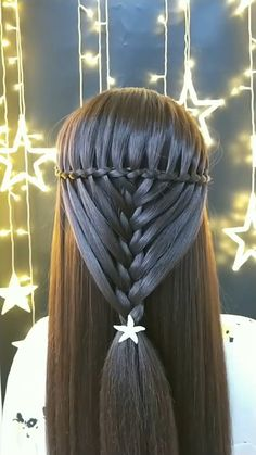 Braided Hairstyles for Long Hair Videos Simple tutorial bridal hair inspiration, check out more vide Easy Hairstyles For Long Hair, Braids For Long Hair, Pretty Hairstyles, Braided Hairstyles, Front Hair Styles, Medium Hair Styles, Hair Tutorials For Medium Hair, Bridal Hair Inspiration, Long Hair Video