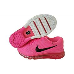 timeless design f0500 e0f59 Nike Air Max 2017 Sko - Billig Nike Air Max 2017 Dame Rose Rød Sort Tilbud