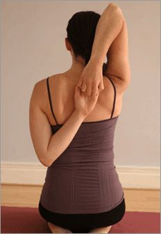 yoga for tight, painful shoulders