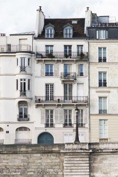 Apartments--Île Saint-Louis, Paris.
