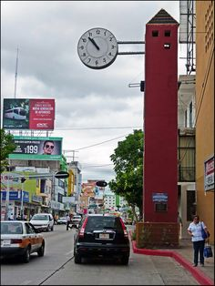 Clock Tower - Tuxtla Gutierrez, Chiapas, Mexico