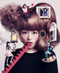 Kyary Pamyu Pamyu (Real name; Kiriko Takemura (竹村 桐子)) b. Jan 29, 1993.  Japanese model, blogger and recording artist