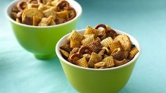 Original Chex® Party Mix - if using the oven, set to 250 degrees for 1hour stirring every 15 min.
