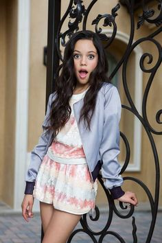 Jenna Ortega Talks 'Stuck in the Middle,' 'Jane the Virgin,' and More - Cliché Magazine Beautiful Little Girls, Cute Girls, Young Celebrities, Celebs, Disney Channel, Nickelodeon Girls, Jenna Ortega, Girl Outfits, Cute Outfits