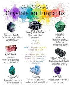 Crystals And Gemstones, Stones And Crystals, Crystals For Home, Crystal Healing Chart, Crystals For Healing, Wicca Crystals, Witchcraft Spell Books, Magick Spells, Herbal Magic