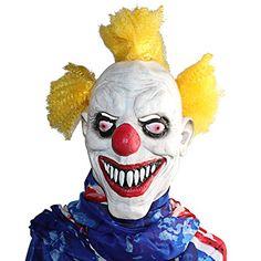 Xiao Mo GU Latex en caoutchouc Funny Clown Masque Halloween Costume Party Décorations: Nouveauté Halloween masque-Tête de clown costume…