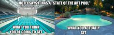 You should see my team when were practicing for the meet and we like what we can't do laps in this