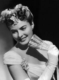 Ingrid Bergman en Luz que agoniza (Gaslight, 1944), película con la que ganó su primer Óscar.