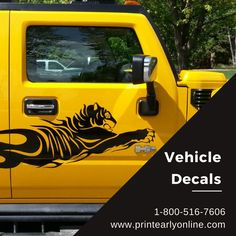 Banner Printing, Car Decals, Vehicles, Prints, Cars, Vehicle, Printmaking