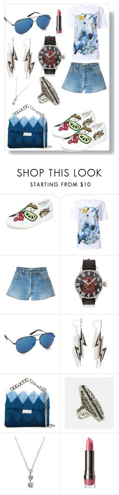 """""""Canvas Sneakers..**"""" by yagna ❤ liked on Polyvore featuring Marc Jacobs, WALL, RE/DONE, Proff, Victoria Beckham, Lynn Ban, STELLA McCARTNEY, Avenue, Fantasia by DeSerio and LORAC"""