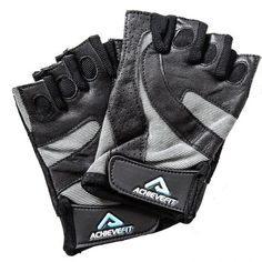 ACHIEVE FIT Weightlifting Gloves - Leather Palm for Fitness savvy Men and Women, Firm Grip, Control and Comfort for Weight lifting, Crossfit Training, Gym Workout - Standard or With Wrist Wraps * See this awesome image : Weight loss Accessories