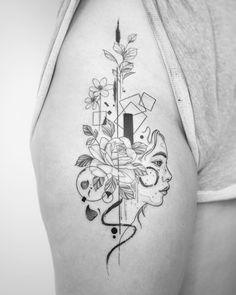 Fine Line Tattoo By Jessica Joy. Jessica Joy is one of the most popular artists in modern tattoo art. She has developed drawings on minimal. Cute Tattoos, Tattoos For Guys, Tattoos For Women, Tatoos, Joy Tattoo, Tattoo Quotes, Tattoo Art, Joy Instagram, Most Popular Artists