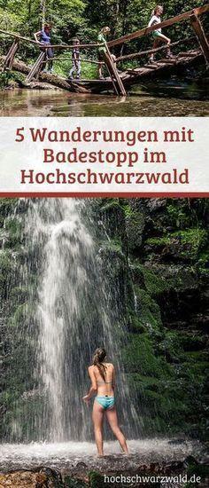 Es wird zu heiß beim Wandern im Schwarzwald? Dann gibt es hier 5 Tipps für Seen, Flüsse und Wasserfälle die eine Abkühlung bereit halten.