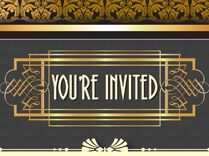 1920s Party Decorations - FREE Printables